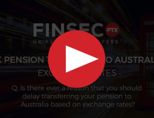 Q. Is there ever a reason that you should delay transferring your pension to Australia based on exchange rates?