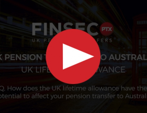 Q. How does the UK lifetime allowance have the potential to affect your pension transfer to Australia?